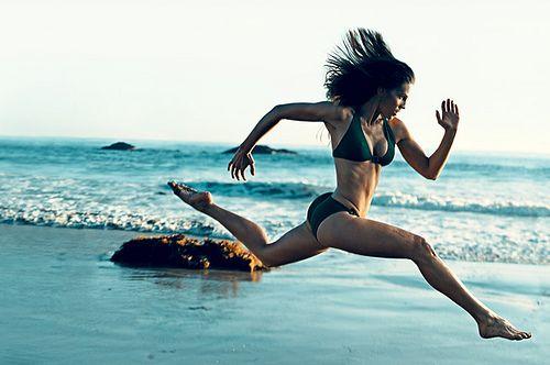Megan Fox circuit training