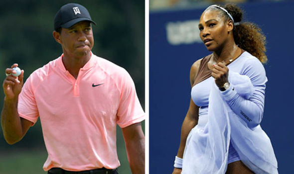 Serena Williams Praised By Golf Legend Tiger Woods Ahead Of The US Open 2018 Women's Final