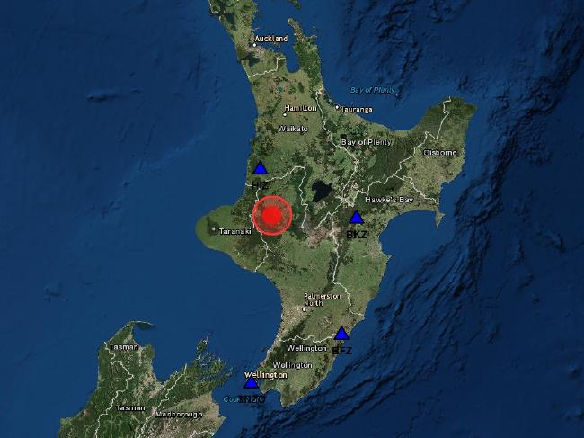 Powerful Earthquake Hits New Zealand During Royal Tour