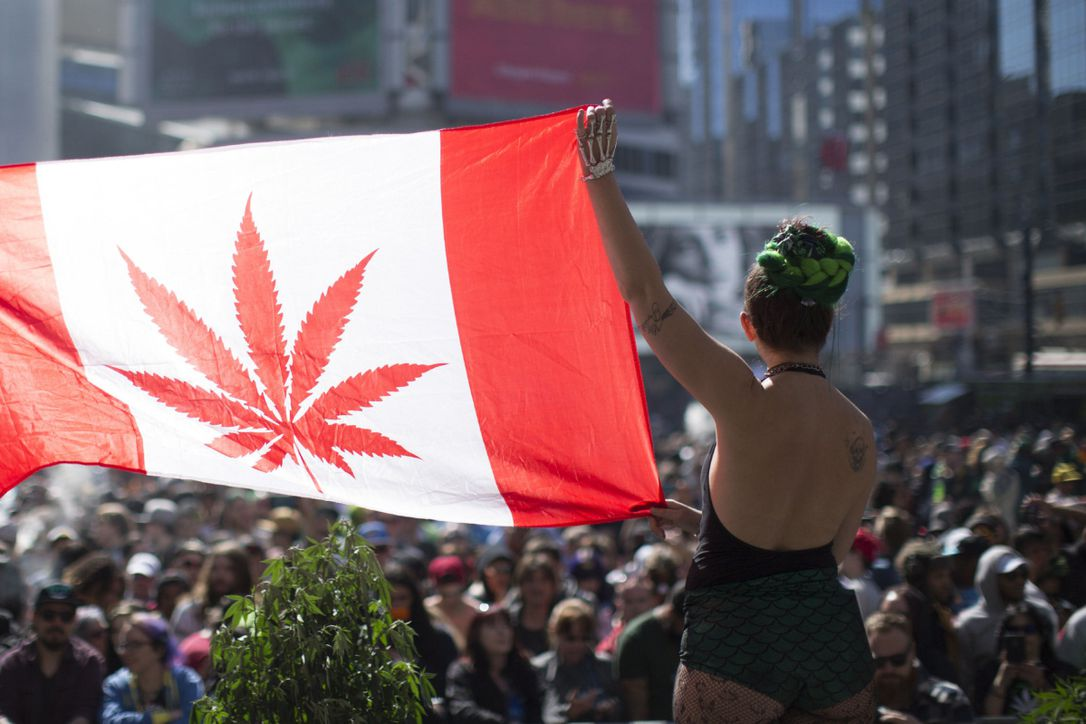 Recreational pot Legal in Canada
