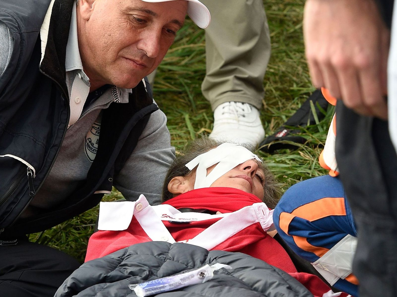 Spectator loses vision at Ryder Cup after being hit by golf ball