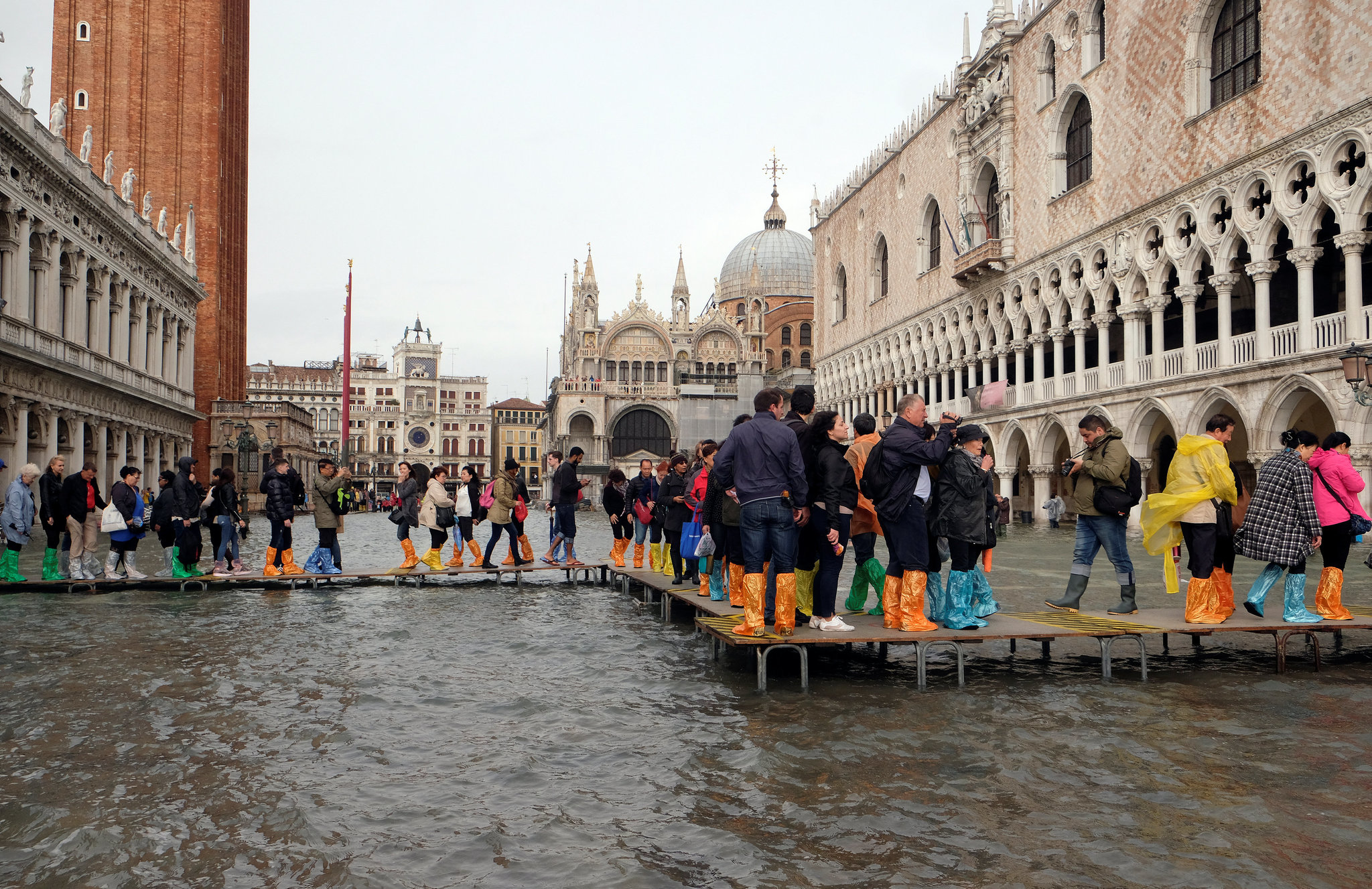 Venice Goes Under Water
