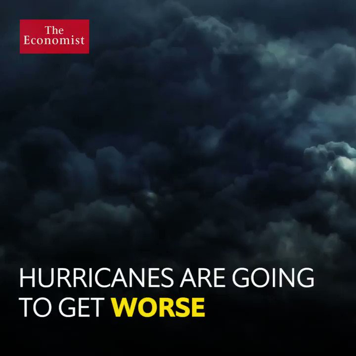 Why are Humans responsible for the upsurge in Hurricanes