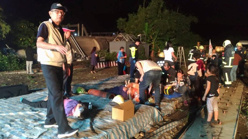 Worst Train Tragedy in Taiwan