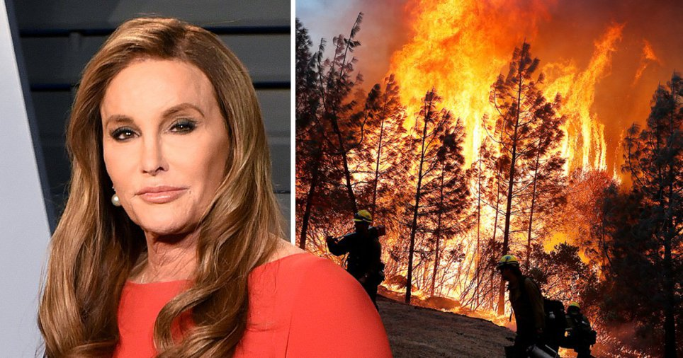 Woolsey Fire Destroys Caitlyn Jenner's Home