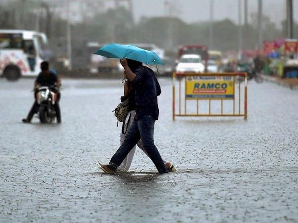 Rainstorms Predicted For Chennai & Kancheepuram