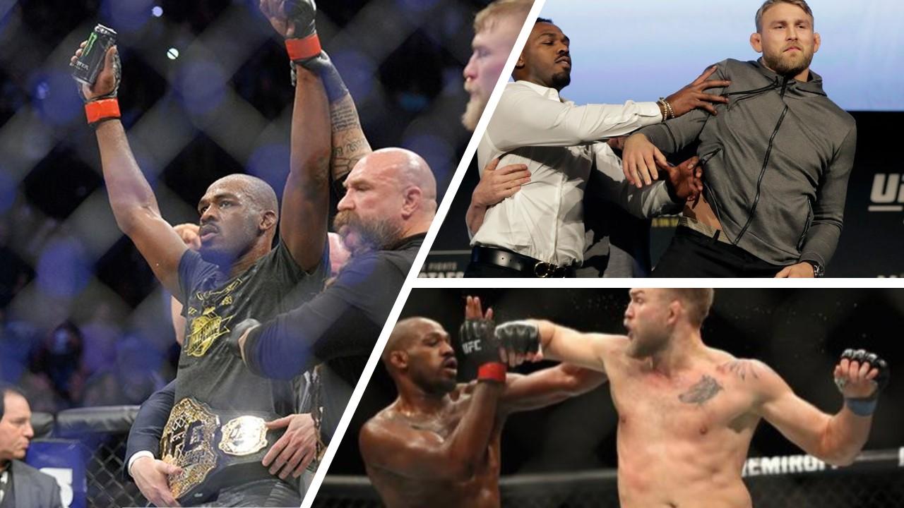 Jon Jones Tactfully Overpowers Gustafsson UFC 232