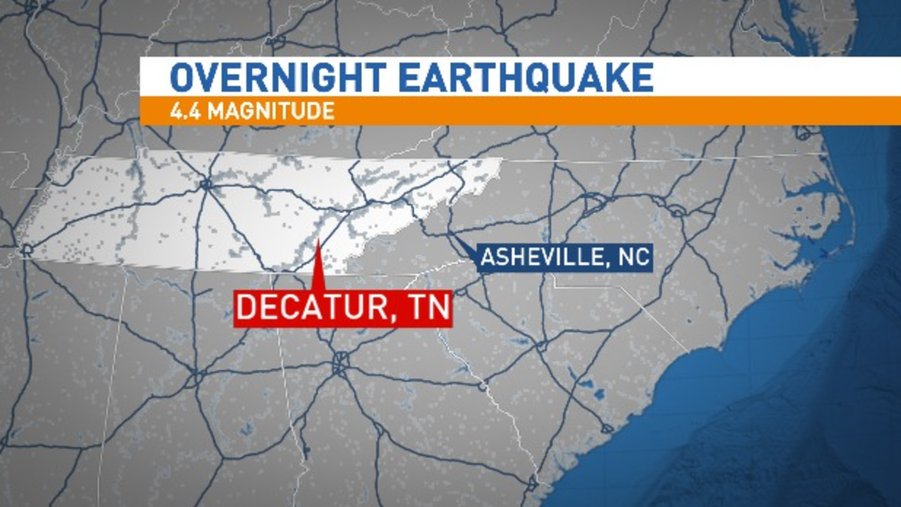 Tennessee Residents Wake Up To a Magnitude 4.4 Earthquake