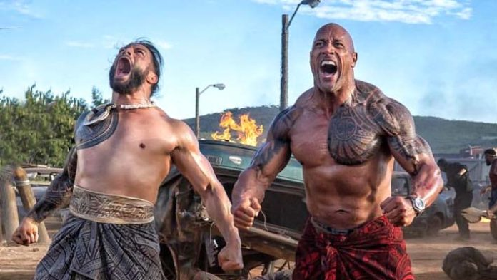 Dwayne Johnson Gives His Cousin Roman Reigns a Boost