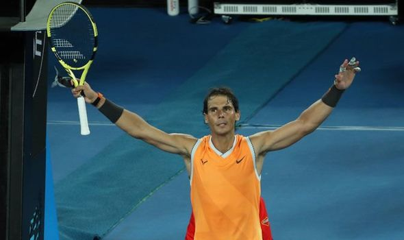 Rafael Nadal Blasts His Way Into Australian Open Final