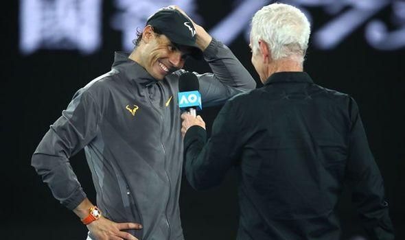 Rafael Nadal Dumbstruck by McEnroe's Awkward Request
