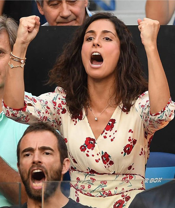 Rafael Nadal's girlfriend Xisca Perello was seen in a pretty floral dress at the Australian Open 2019 during the semi-final match when her partner was up against Stefanos the Greek wonder kid.