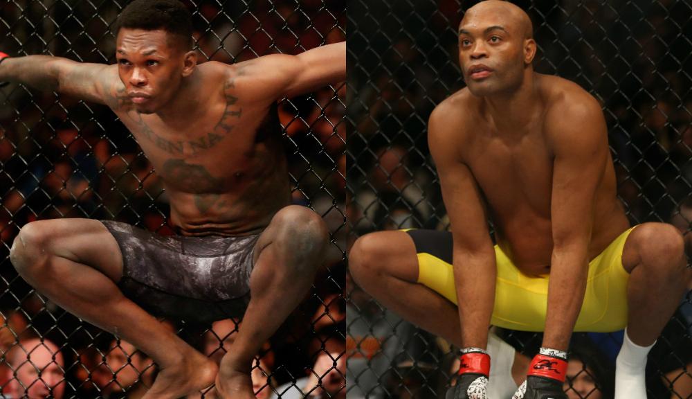 Israel Adesanya vs. Anderson Silva UFC