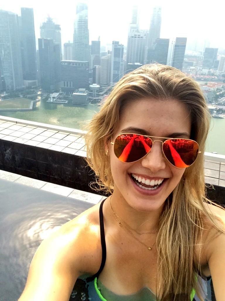 Bouchard's Happy Valentine's Message From Dubai