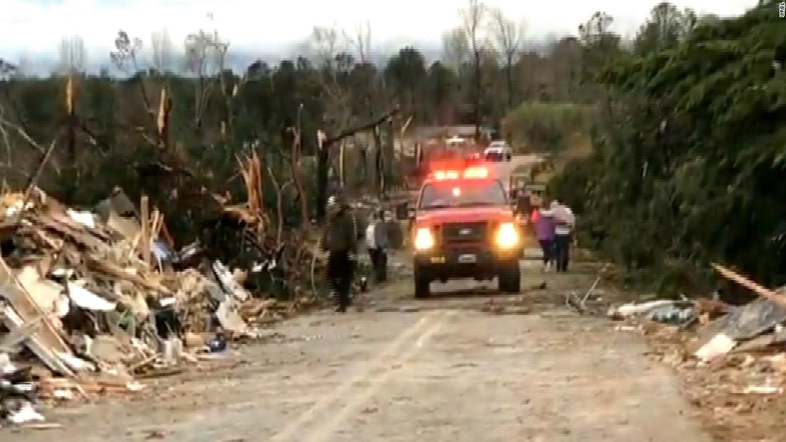 Alabama Hit By A Barrage of Tornadoes | 23 Reported Dead
