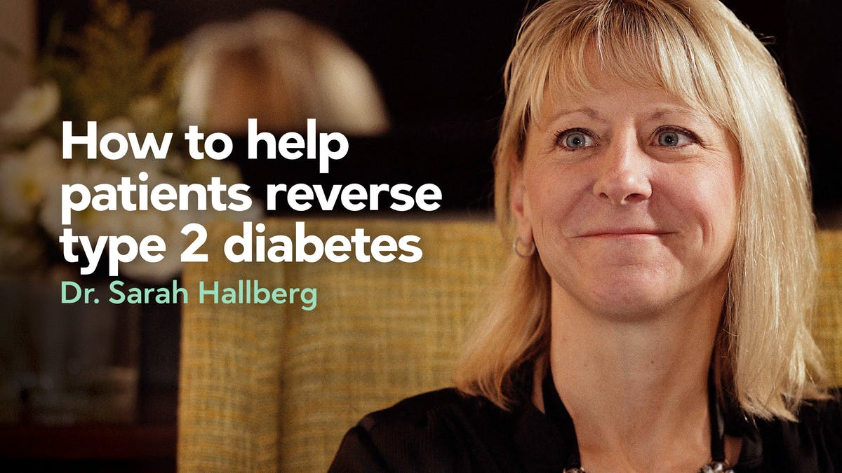 Ignoring The Guidelines Key To Reversing Type 2 Diabetes | Sarah Hallberg On TEDxPurdueU