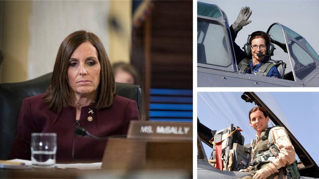 Senator Martha McSally's Revelation | She Was Raped By a Superior In The Air Force