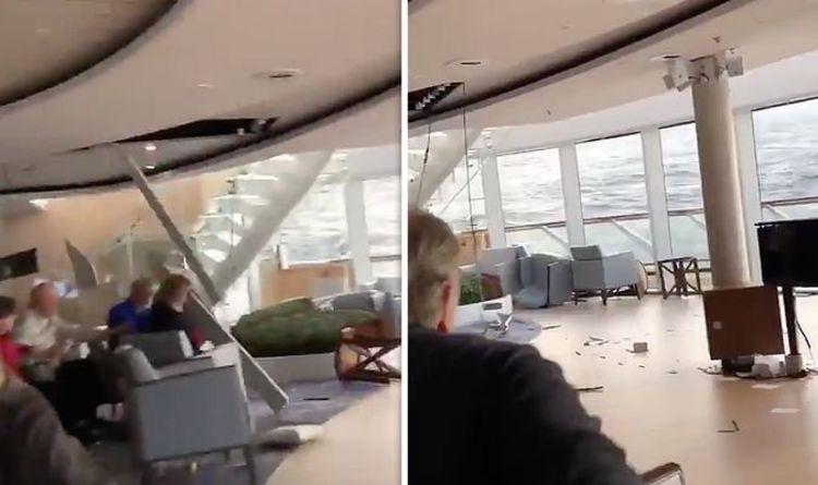 Viking Sky Cruise Ship Thrown into Chaos at Sea | Insane Eyewitness Video