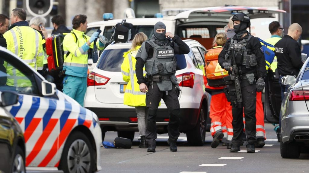 Utrecht Shooting Possible Terror Attack | Several Injured in Holland Tram Shooting Incident