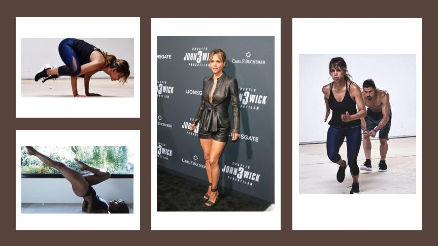 Is She the Fittest 52 Year Old | Halle Berry Training For John Wick 3