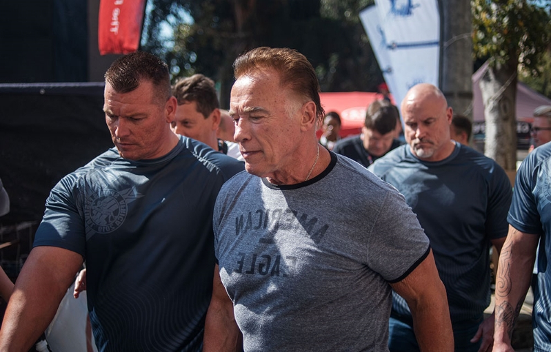Arnold Schwarzenegger Attacked at Arnold Classic Africa | Arnie South Africa Incident