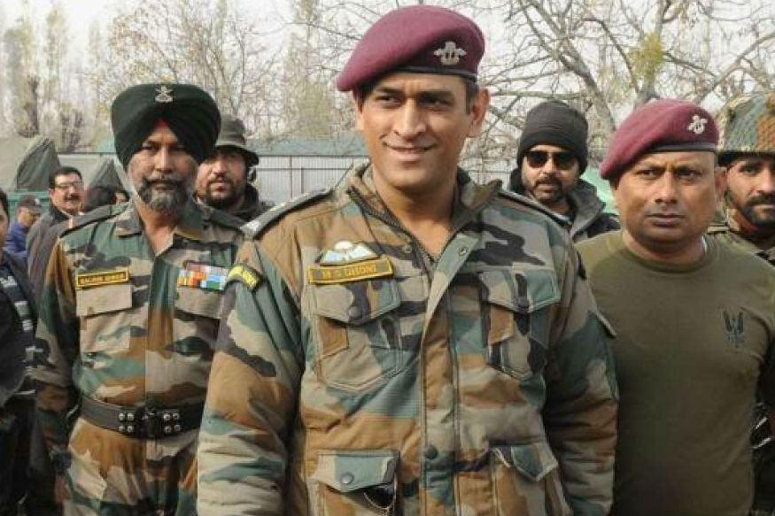 Dhoni Joins Anti-Terrorism Unit Victor Force