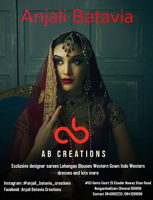 Anjali Batavia Creations Chennai