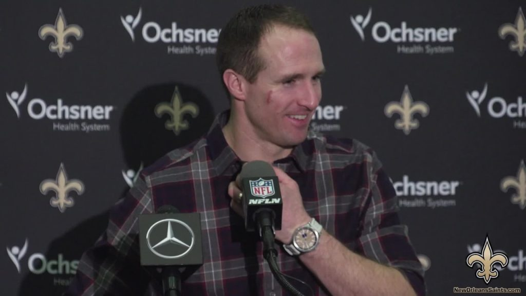 Drew Brees Post Match Press Conference