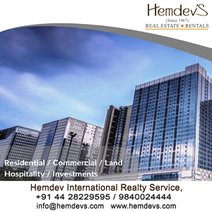 Hemdevs Real Estate & Rentals Chennai