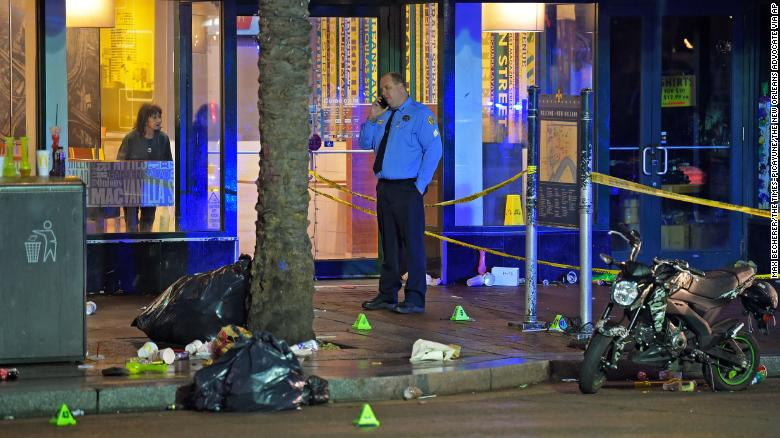 11 People Shot on Canal Street