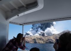 Raw Footage White Island Volcano Eruption   Tourists injured and missing in New Zealand