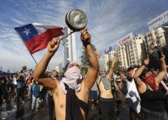 Chile Protests Turns Violent   #EstadoDeExcepcion State of Emergency Declared in Santiago