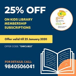 Glow Worm Kids Book Club Chennai