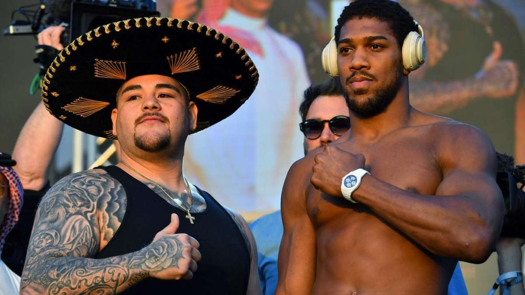 Andy Ruiz Jr 2 vs Anthony Joshua Rematch in Saudi Arabia