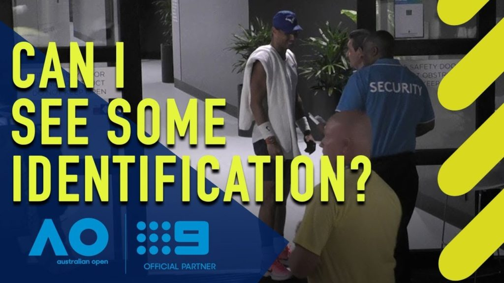 Rafael Nadal Embarassed by Australian Open Security