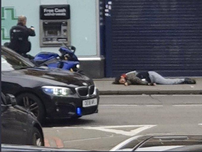 South London Terror Attack Eye Witness Video