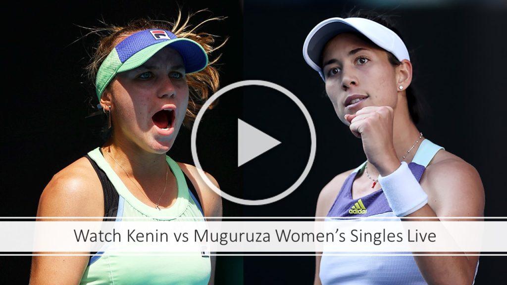 Kenin vs Muguruza Women's Singles Preview