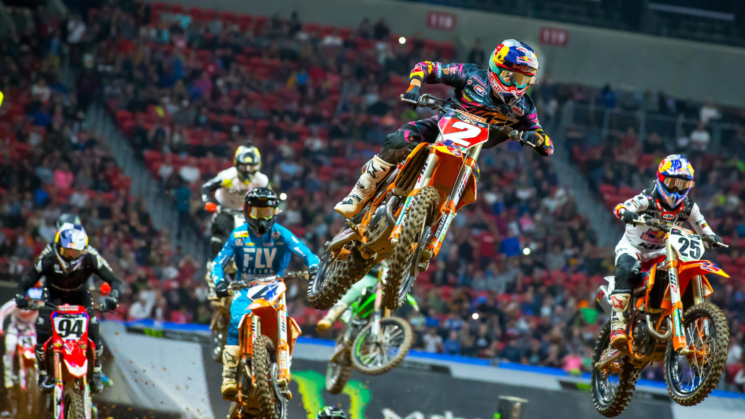 AMA SUPERCROSS 2020 DAYTONA DETAILED SCHEDULE