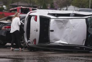 Camera Footage Tornado Rips Through Arkansas city