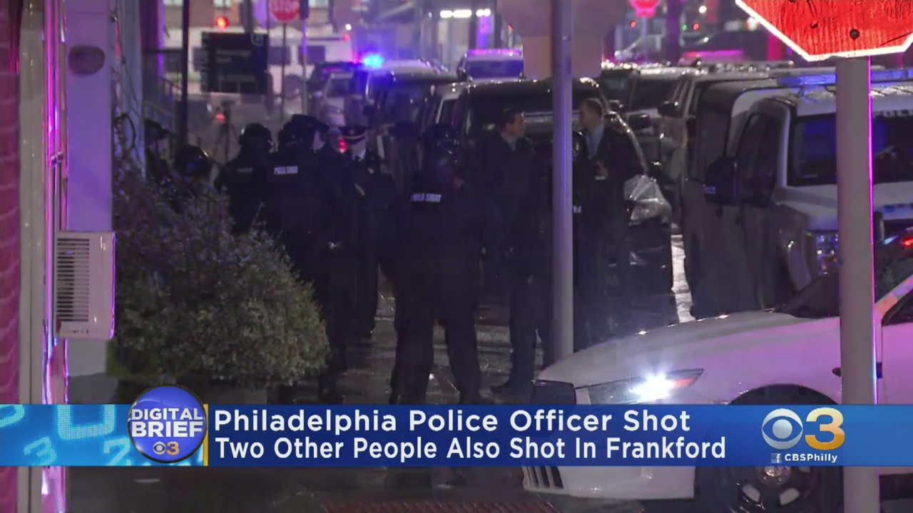 Philadelphia Police SWAT Officer Shot Dead