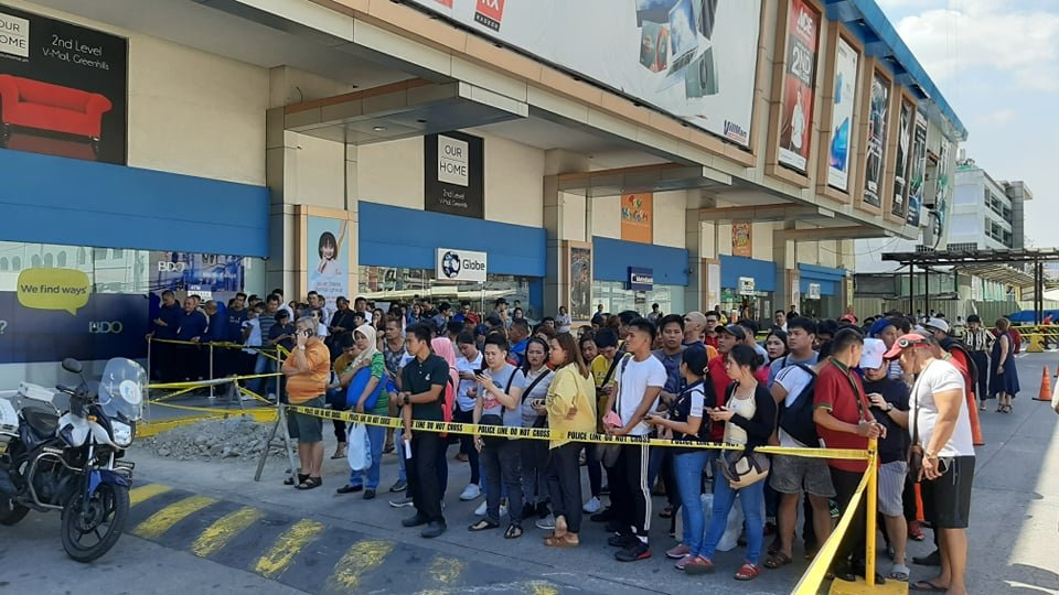 V-Mall Greenhills Hostage situation Updates