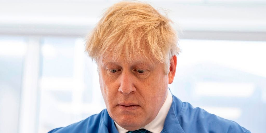 UK's Prime Minister Boris Johnson Tests Positive