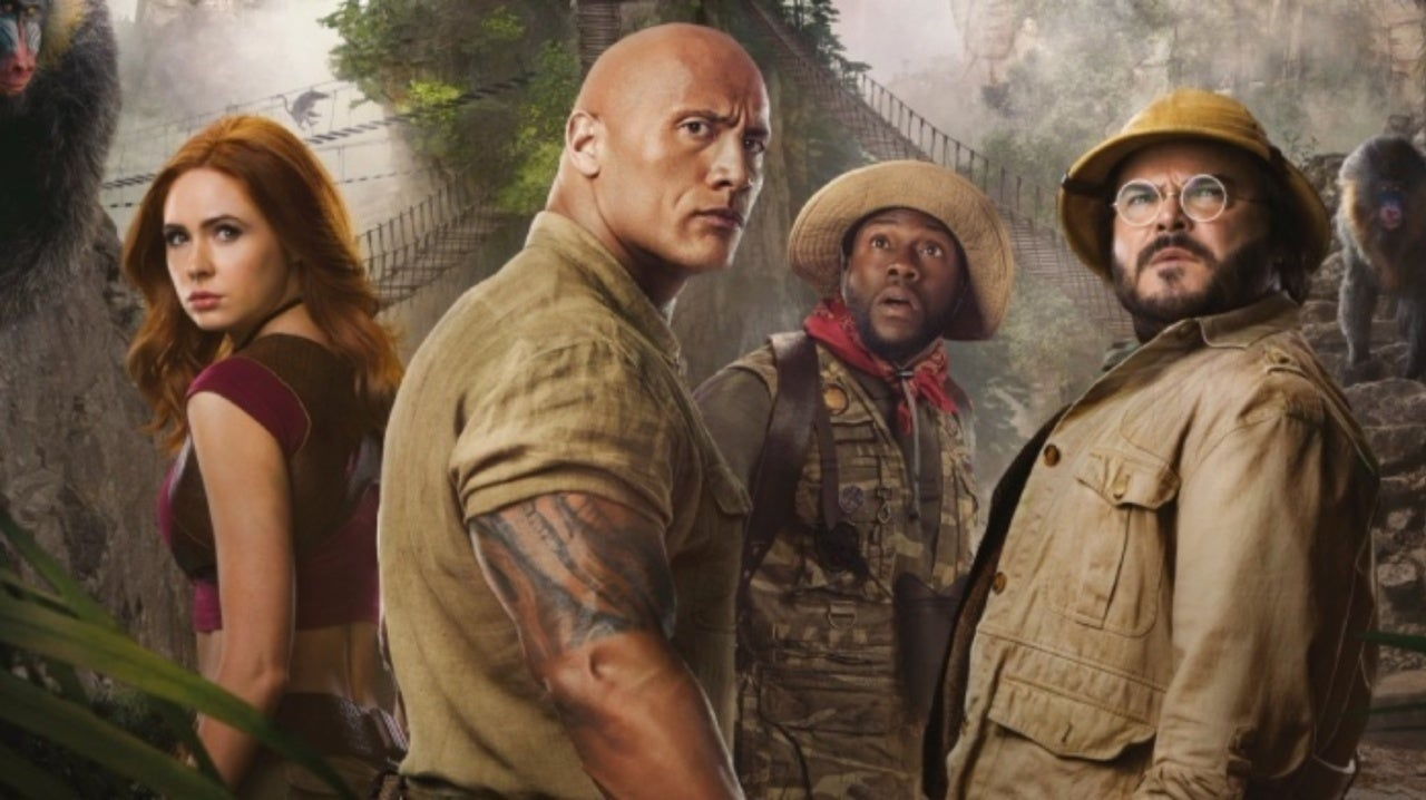 Jumanji The Next Level Paandu Review