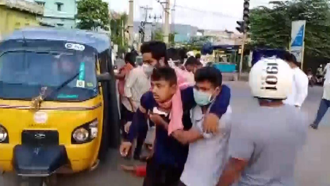 Vizag Gas leak Eye Witness Footage