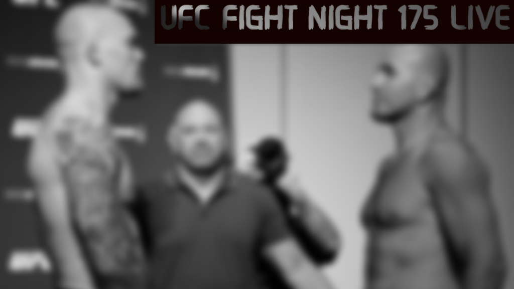 UFC Fight Night 175 Nashville