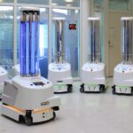 UV light robot that kills bacteria deployed in Wuhan