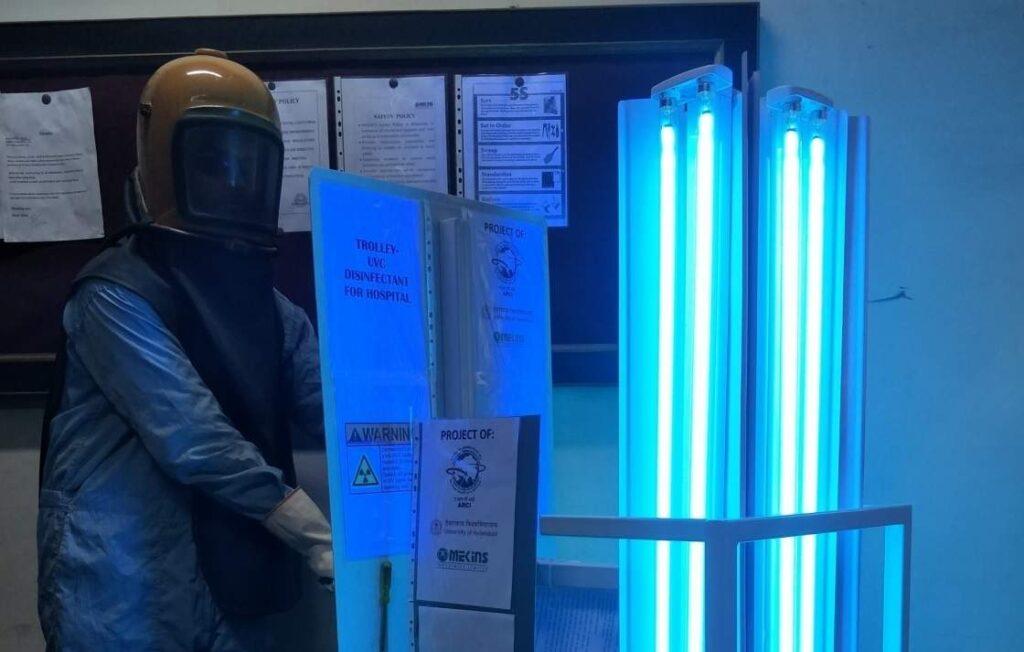 Studies indicates UV light can kill COVID-19 germs