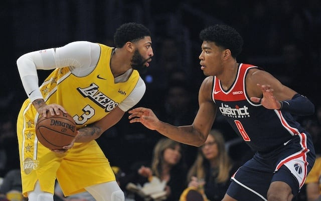 3 Things To Watch As Lakers Take On Wizards