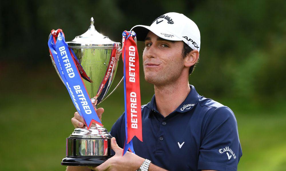 Renato Paratore wins the 2020 Betfred British Masters