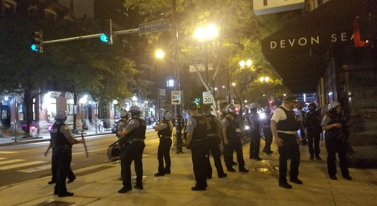 Chicago PD Exchange Fire with Offenders